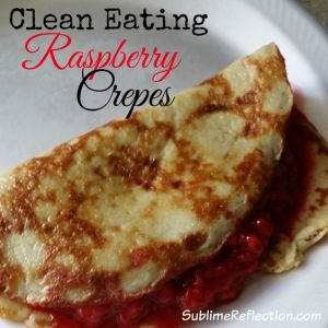 rasperry crepes